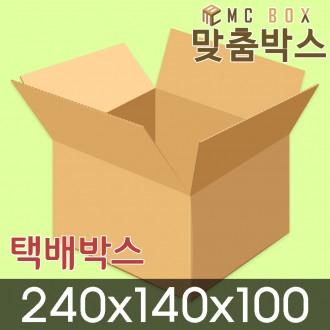택배박스 포장박스 240x140x100 (200장) / A-SA37