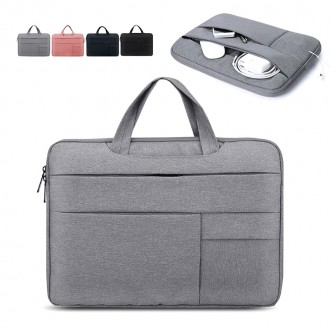[가방] 맥북 노트북 멀티포켓 파우치 가방 방수원단