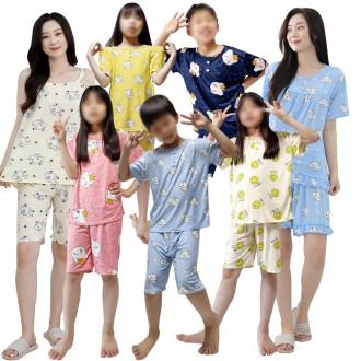 아동/피치/잠옷/상하/세트/성인/가을/기모/바지/상의