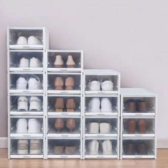 3P 슬라이딩 신발 수납장/진열/보관함/원룸/슈즈 진열