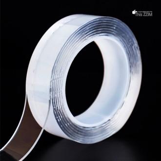 [이거찜] 초강력 실리콘 양면 테이프/반영구적 멀티 다기능 테이프