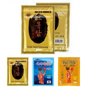찜질팩 붙이는 인삼 홍삼 어깨 찜질 패드 팩