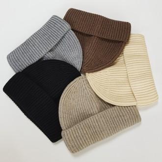 라운드 숏 비니 개별OPP포장 고품질 4계절 비니모자 귀마개 겨울용품 사은품 와치캡 선물 모자