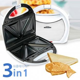 와플메이커 와플팬 붕어빵만들기 샌드위치 와플만들기 어반 와플펜 와플쿠커