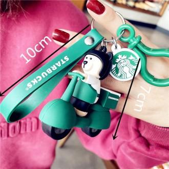 스타벅스 곰돌이 큐피드 배달부 인형 키링 열쇠고리 장식 가방장식 에어팟장식 키링장식
