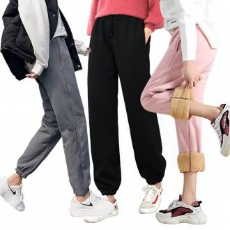 [도매라인]땡처리*융털바지/트레이닝팬츠/체육복/기모바지/밴딩팬츠/운동복/핑크남은수량 땡처리