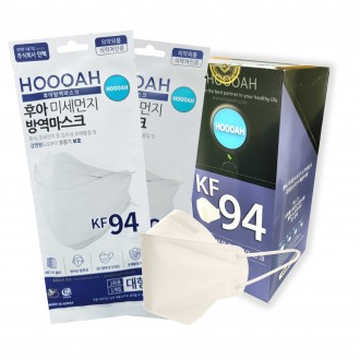 [최저가] 장당 340원 KF94 대형 식약처인증 개별 포장 후아미세먼지 방역 마스크 25매