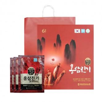 개성상인 홍삼진기 50ml x 30포 쇼핑백포함