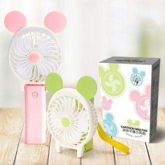 접이식미니선풍기 LED 레인보우 선풍기 KC대량구매문