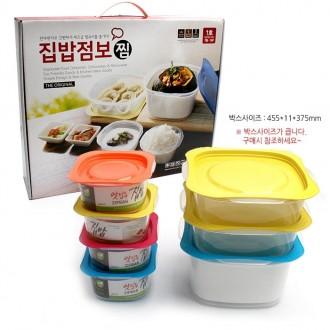 집밥세트 점보1호 7종 15p 점보햇밥 혼합15P 렌지용기
