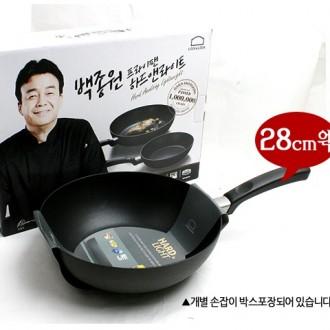 락앤락 하드앤라이트 백종원 궁중팬 28cm 웍 후라이팬