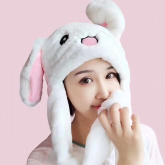 [당일발송]움직이는 귀여운 토끼 동물 모자 토끼모자