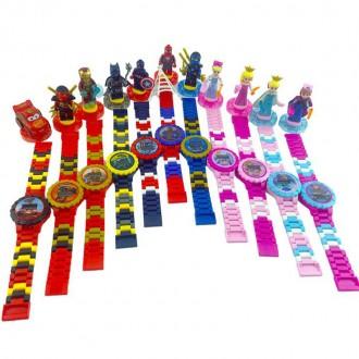 레고시계 아동용블럭시계 9종