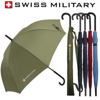 스위스밀리터리 60자동 솔리드 장우산-인쇄무료