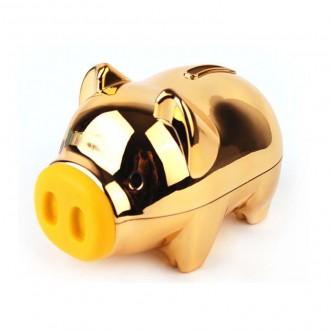 국내제작 마키 골드 팬시 돼지 저금통 황금돼지 인쇄