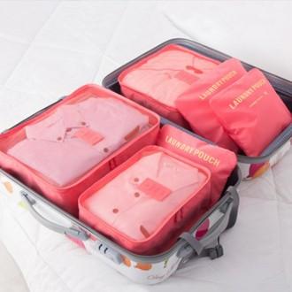 트래블 파우치 6P SET 여행용 파우치 6종 6피파우치