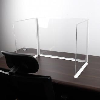 위생 칸막이/식당 사무실 투명가림막 책상 아크릴