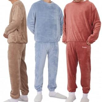 남자 초극세사 수면잠옷 잠옷세트 수면세트 겨울잠옷 상하의세트