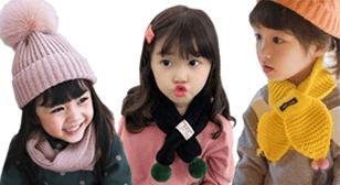 겨울신상 아동 목도리&모자