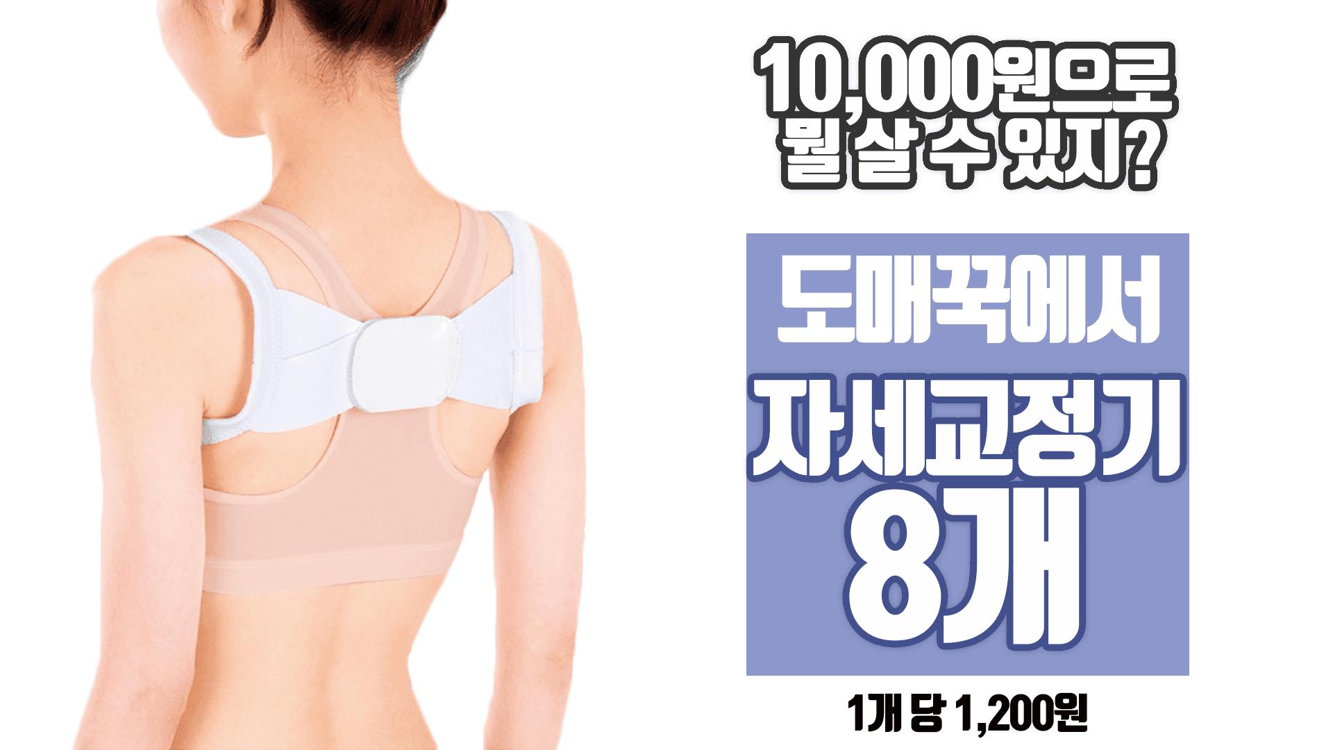 자세교정기/어깨교정기/예쁜몸매/바른자세/품질보장