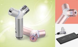 알루미늄 차량용공기청정기&고속충전기 QCC-IQC30