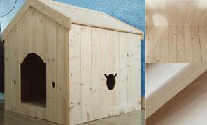 원목 강아지집 하우스 러시아 삼나무 DODGE1