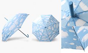 파스텔구름8k 자동 어린이장우산