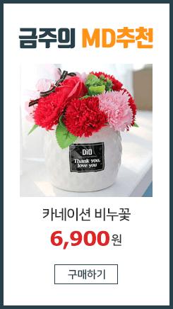 kc인증 핸드메이드 카네이션 비누꽃/ 장미/선물/어버