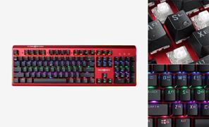 마이크로닉스 MANIC K735 엣지 RGB 카일박스 백축