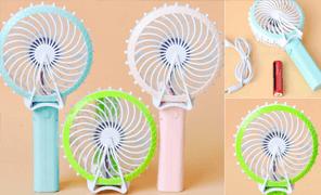 [SN085P]에펠탑선풍기/미니 핸디 선풍기/USB선풍기