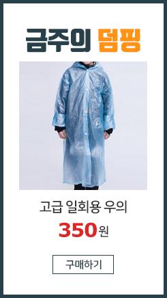 고급 일회용 우의/우비/비옷/레져/판촉/행사/아동용
