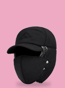 마스크 모자 남여공용