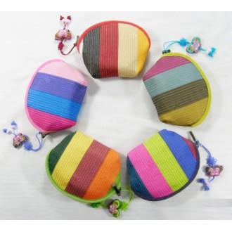 색동동전지갑
