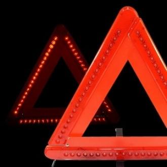 삼항ㅁ고급 안전 LED삼각대(AA건전지 별매)