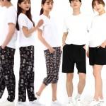 아이스 쿨바지 여름 여성 남성 바지 작업복 팬츠 잠옷