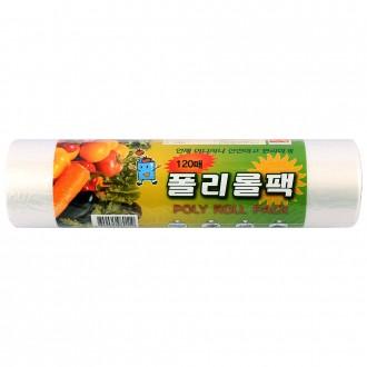 폴리롤팩(120매)비닐팩/위생팩/롤팩/비닐(무료배송)