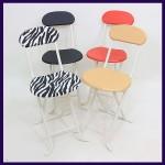 [오에이데스크]등받이모던의자/간이의자/인테리어의자