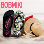 정품 세일 밥미키 플립플랍 여름 커플 쪼리 여성 샌들