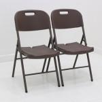 [오에이데스크]프리미엄 브로몰딩 접이식 의자/테이블/캠핑의자