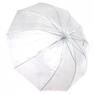 65 투명우산 8K/흰색/자동우산 장우산 단체우산 우산