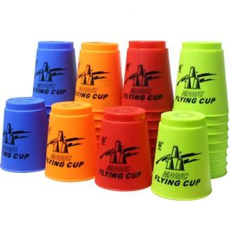매직플라잉 컵쌓기12p 컵스텍 스타킹 컵쌓기 판촉물