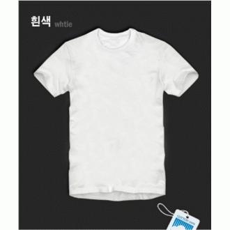 빨간양말공장)30수코마사/면티/초특가 흰색 회색