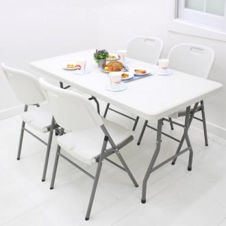 [오에이데스크]1220 브로몰딩 접이식 테이블/가판대
