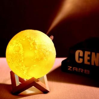 3D LED 문라이트 달조명가습기 터치 월영 슈퍼문
