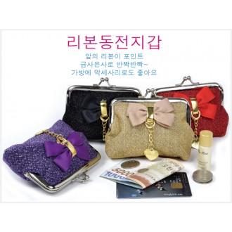 리본동전지갑.동전지갑.미니지갑.파우치.지갑.여성지