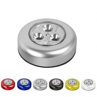 [3구 LED 터치라이트]/터치후레쉬/터치등/부착등/자동