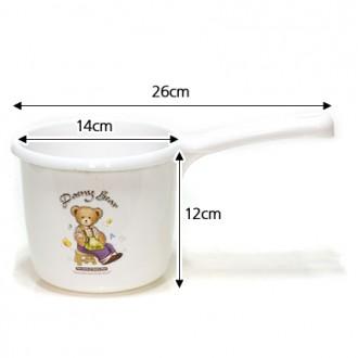 데니베어 자루바가지(26cm×12cm)-국산/욕실용품