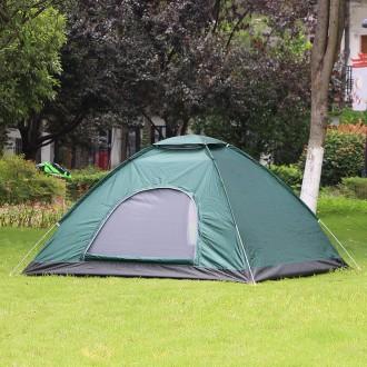 3 4인용 캠핑 나들이 겸용 3단 원터치 텐트
