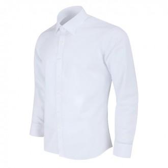 슬림 화이트 기본셔츠 MN101