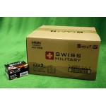 스위스밀리터리 알카라인 AAA 건전지 -온라인공식총판